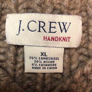 J. Crew Handknit Lambswool & Cashmere
